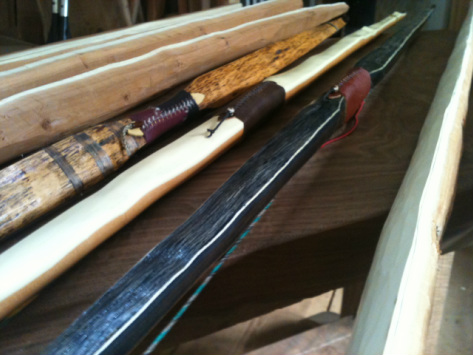 Traditional Longbows, Flatbows and Selfbows for sale
